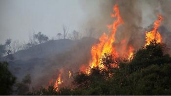 Δύο πυρκαγιές στην Κρήτη: Σε Χανιά και Ηράκλειο