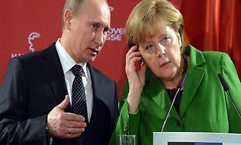 Συρία, Ουκρανία, ΗΠΑ και Nord Stream 2 στην ατζέντα Μέρκελ και Πούτιν