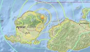 Νέος σεισμός 6,9 Ρίχτερ στην Ινδονησία