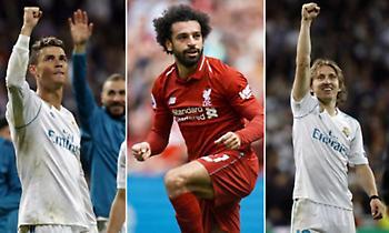 Αυτοί είναι οι τρεις υποψήφιοι για το βραβείο του παίκτη της χρονιάς από την UEFA (video)