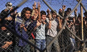 Επεισόδια σε κέντρο ανήλικων μεταναστών στην Πυλαία - Εννέα προσαγωγές