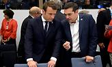 Ο Μακρόν χαιρετίζει «το κουράγιο και την αξιοπρέπεια» του ελληνικού λαού