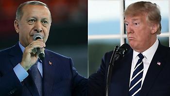 Τραμπ: Νόμιζα ότι είχαμε καταλήξει σε συμφωνία με τον Ερντογάν για την απελευθέρωση του Μπράνσον