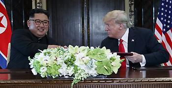 Νέα συνάντηση με τον Κιμ Γιονγκ Ουν προανήγγειλε ο Ντόναλντ Τραμπ