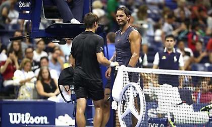 Εγκατάλειψε ο Φερέρ στο τελευταίο του Grand Slam και πρόκριση για Ναδάλ