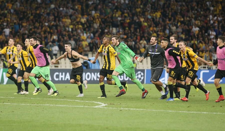 Αήττητη για 14 σερί ευρωπαϊκά ματς η ΑΕΚ!