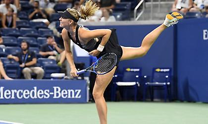 Η Σαράποβα στον 3ο γύρο του US Open