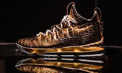 Βασιλικά παπούτσια αξίας 100.000 δολαρίων για τον ΛεΜπρόν!