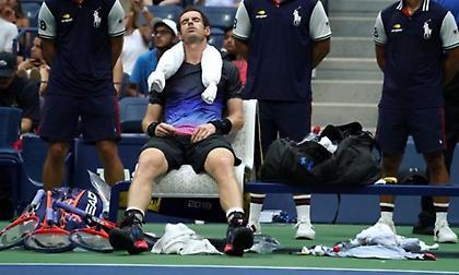 Ο Μάρεϊ αποκλείστηκε από το US Open