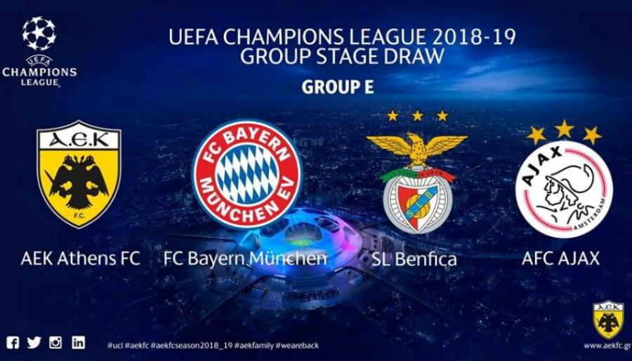 Η ΑΕΚ στο Champions League: Βγήκαν ειδικά στοιχήματα
