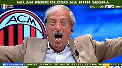Τρελάθηκε με το γκολ της Μίλαν στο 95' Ιταλός δημοσιογράφος (video)