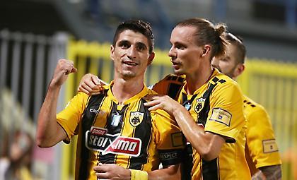 Νίκη με τεράστια σημασία για το πρωτάθλημα της ΑΕΚ στην Τρίπολη