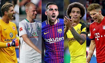 Το Top-5 των καλοκαιρινών μεταγραφών της Bundesliga