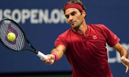 Αποκλείστηκε ο Φέντερερ από το US Open