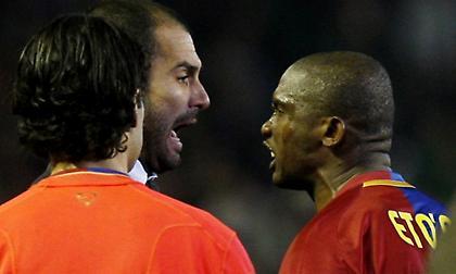 Μετωπική επίθεση Ετό σε Γκουαρντιόλα – «O Πεπ ήταν απλά καλός παίκτης»