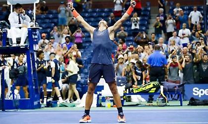 Ο Ναδάλ στα ημιτελικά του US Open μετά από «μάχη»... 5 ωρών