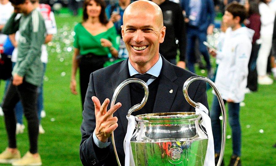 Ζιντάν: «Στη Ρεάλ Μαδρίτης πρέπει να κερδίζεις τα πάντα»