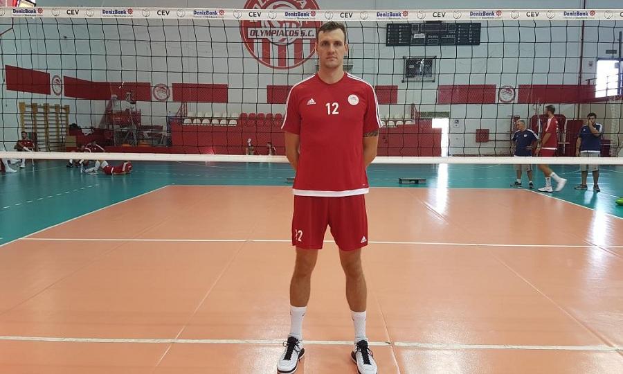 Μπήκε στις προπονήσεις του Ολυμπιακού ο Σμιτ: «Ενθουσιασμένος που βρίσκομαι εδώ»
