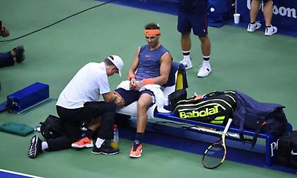 KO λόγω τραυματισμού ο Ναδάλ από το US Open