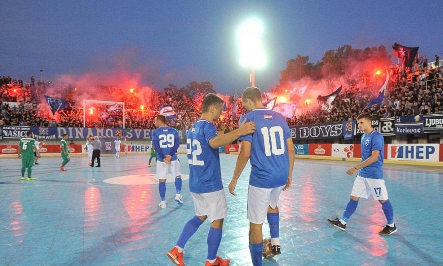 Απίστευτη ατμόσφαιρα σε futsal Ντιναμό-Παναθηναϊκός-Παρόντες Μπίσκαν και Μάριτς (video)