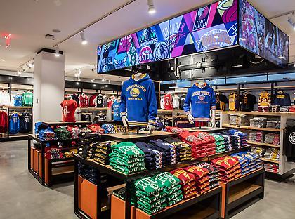 Το πρώτο ΝΒΑ Store της Ευρώπης, στο Μιλάνο (pic)