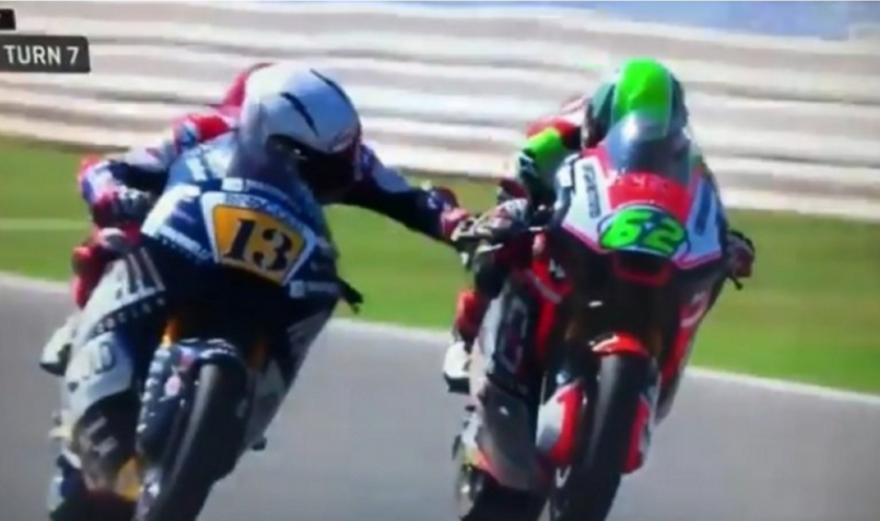 Έδιωξαν τον επικίνδυνο αναβάτη του Moto 2, Ρομάνο Φενάτι