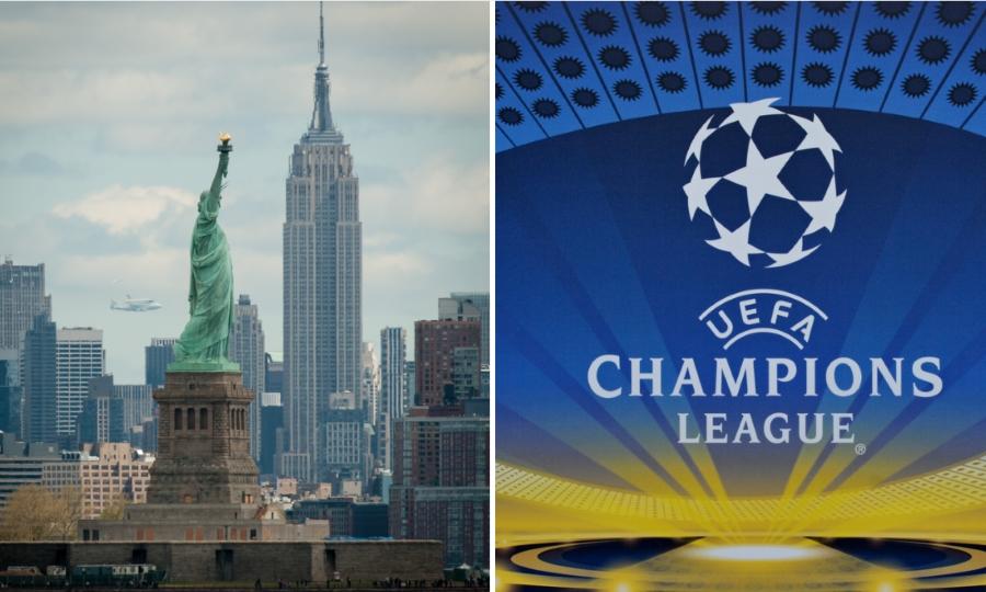 Προσεχώς… τελικός του Champions League στη Νέα Υόρκη!