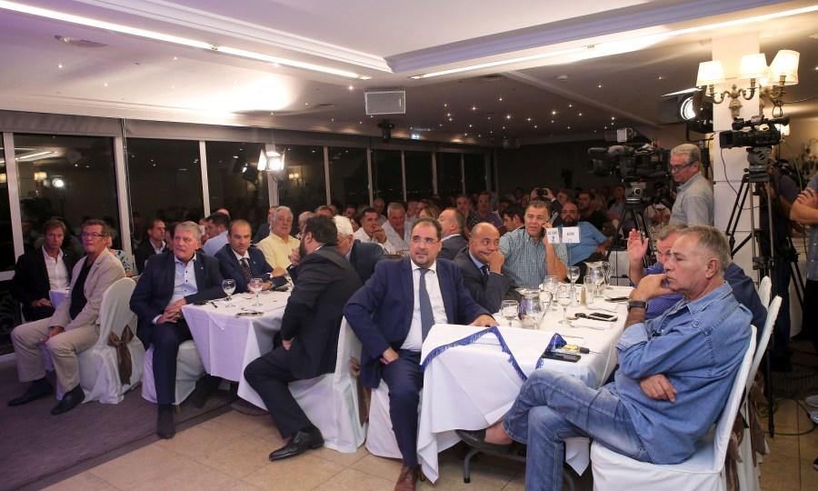 «Λάμψη» και βραβεύσεις στην κλήρωση της Volley League
