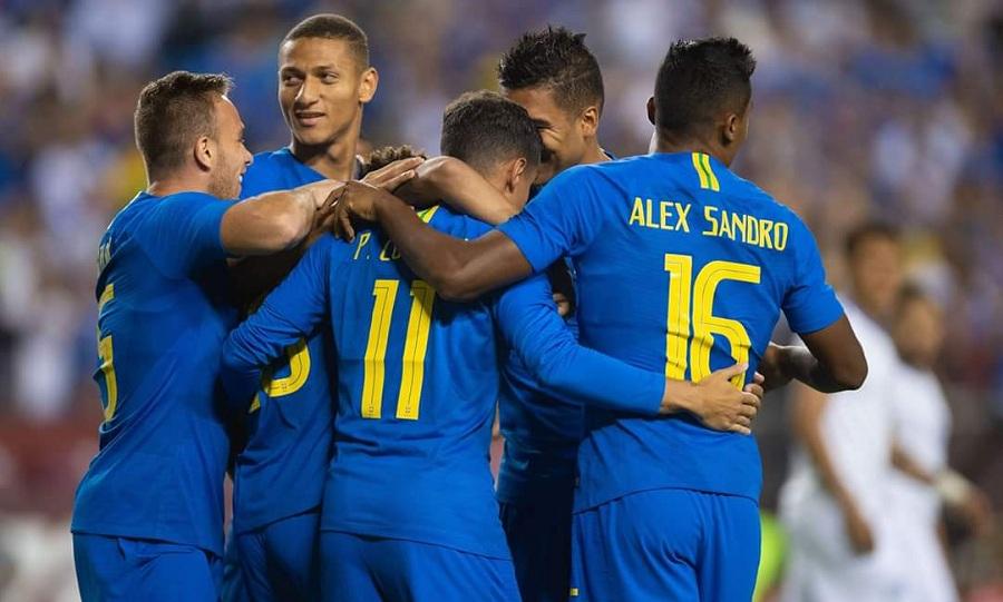 «Πεντάρα» η Βραζιλία, στο… μηδέν η Αργεντινή (vids)