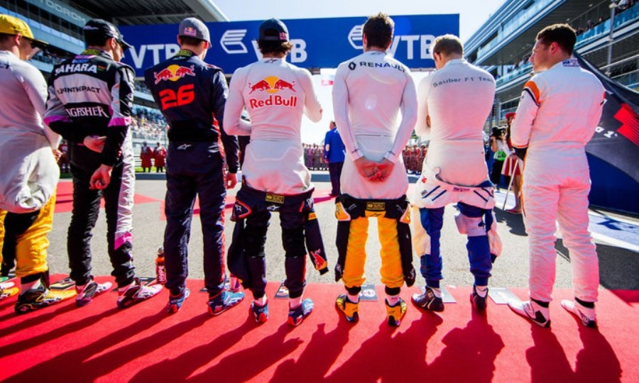 Το γκριντ της Formula 1 για το 2019