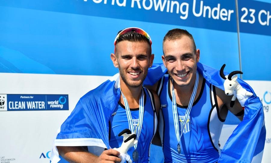 «Ασημένιοι» Παπακωνσταντίνου και Μαρόκος στο Παγκόσμιο Πρωτάθλημα