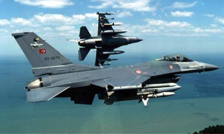 Οπλισμένα τουρκικά αεροσκάφη σε σχηματισμό πραγματοποίησαν 17 παραβιάσεις στο Αιγαίο