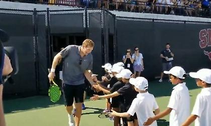 Ντιρκ Νοβίτσκι: Το έριξε στο τένις… (videos)