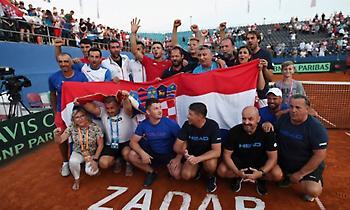 Γαλλία - Κροατία ο τελικός του Davis Cup