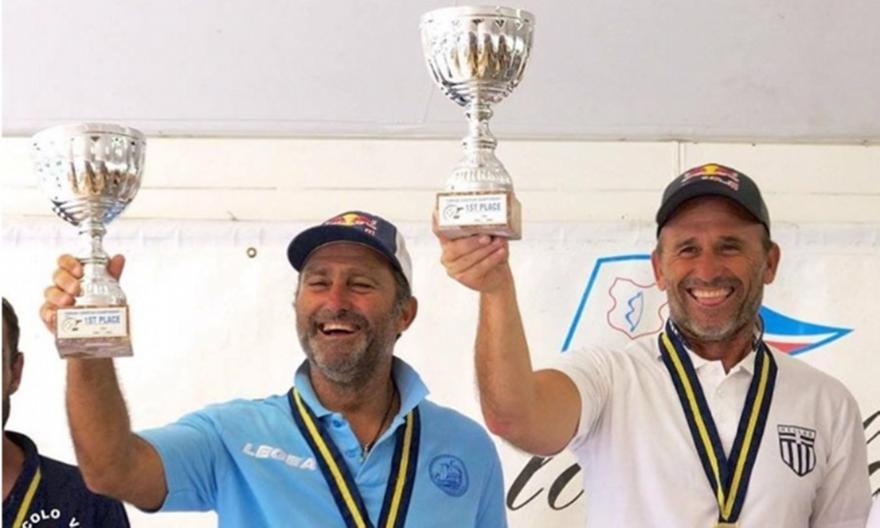 Το 7ο ευρωπαϊκό τους πρωτάθλημα κατέκτησαν οι Πασχαλίδης και Τριγκώνης