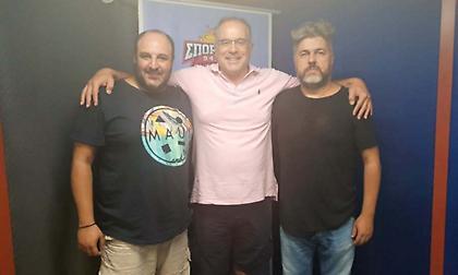 Live: Ο Θανάσης Σκουρτόπουλος στον ΣΠΟΡ FM 94,6!