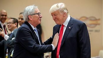 Έπαινοι Τραμπ για Γιούνκερ: «Ο Ζαν Κλοντ είναι σκληρό καρύδι»
