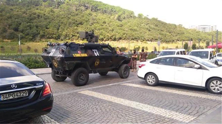 Ένοπλος εισέβαλε σε εμπορικό στην Κωνσταντινούπολη