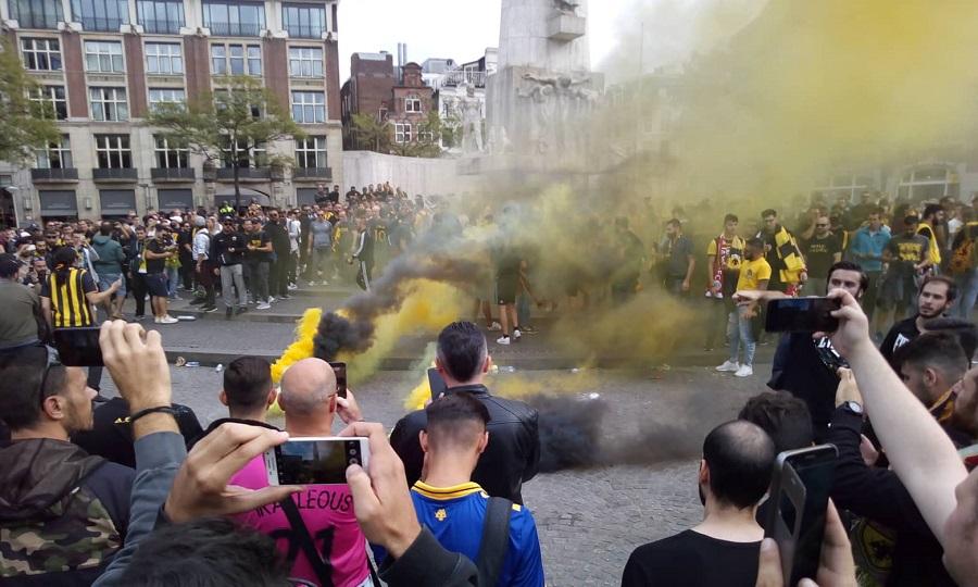 Πανικός στο Άμστερνταμ για την ΑΕΚ! (pics/video)