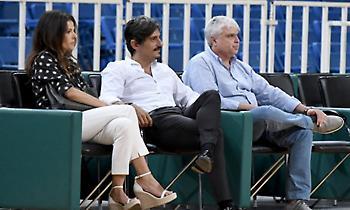 Υπό το βλέμμα του Γιαννακόπουλου το φιλικό του Παναθηναϊκού με την Ούνιξ