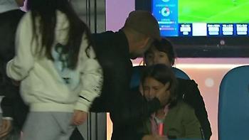 Πλάνταξε στο κλάμα η κόρη του Γκουαρντιόλα (video)