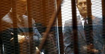 Αίγυπτος: Ελεύθεροι με περιοριστικούς όρους οι 2 γιοι του Μουμπάρακ