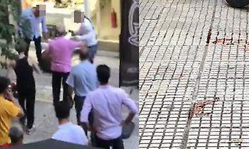 Βίντεο - σοκ από την απόπειρα ληστείας στην Ομόνοια με νεκρό το δράστη