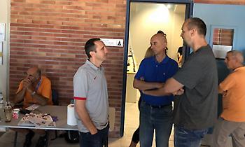 Η συνάντηση Ντέιβιντ Μπλατ-Ντίνο Ράτζα (pic)