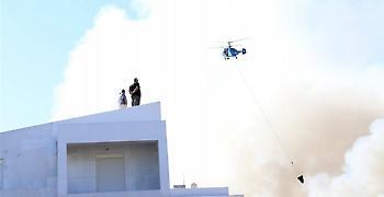 Κρήτη: Καλύτερα η εικόνα της πυρκαγιάς στο Πανεπιστήμιο Ηρακλείου