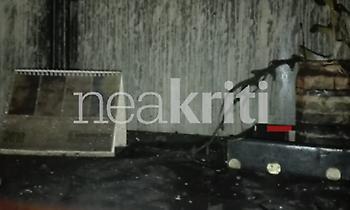 Μέσα στο Πανεπιστήμιο Κρήτης, μετά τη μεγάλη πυρκαγιά (pics)