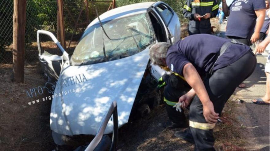 Σοβαρό τροχαίο με δύο τραυματίες στους Μύλους Άργους