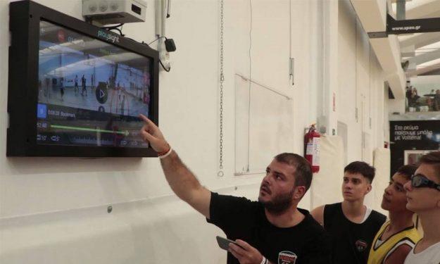 Eurohoops Dome: Προπόνηση…άλλου επιπέδου με τη νέα τεχνολογία PlaySight (VIDEO)