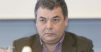 Ο Γιώργος Αγγελόπουλος στο Γραφείου του πρωθυπουργού στη Θεσσαλονίκη