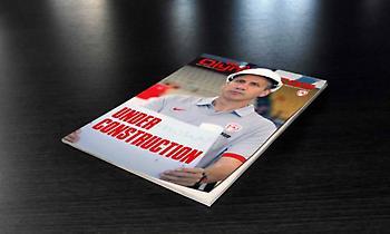 Με συνέντευξη Μπλατ το 3ο τεύχος της ΚΑΕ Ολυμπιακός